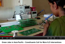 Green Jobs in Asia-Pacific: Constituents call for more ILO interventions
