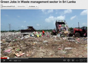 Green Jobs in solid waste management sector in Sri Lanka