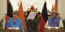 Modi, Merkel vow to revive trade efforts, promote clean energy