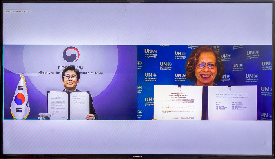 Republic of Korea and UNEP Renew Joint Commitment for Climate and Green Economy