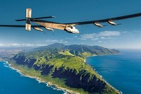 Solar-powered plane takes off from Japan for trans-Pacific crossing