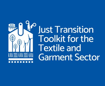 """Under the Decent Work in Garment Supply Chains Asia project, the ILO is releasing a """"Just Transition Toolkit"""". The Toolkit looks at how to drive behaviours and practices throughout the textile and garment supply chain in Asia, and will provide specific advice on just transition in the garment sector to social partners and industry stakeholders groups including: governments and policy actors, enterprises, workers."""