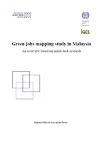 Green jobs mapping study in Malaysia