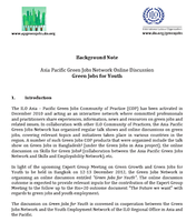 Background documents: Green Jobs for Youth Online discussion