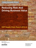 CDP Supply Chain Report 2012-13