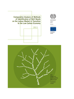 Comparative analysis of methods of identification of skill needs on the labour market in transition to the low carbon economy