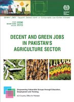 Decent and green jobs in Pakistan's agriculture sector