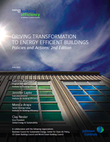 Driving transformation to energy efficient buildings: Policies and actions (2nd edition)