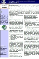 Environment and Climate Change Bulletin 4- IOE Engagement in the Global Sustainable Development Goals (SDGs) Debate