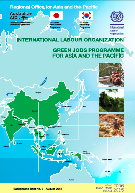 Green jobs Asia and the Pacific background brief No. 3