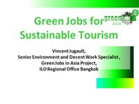 Green Jobs for Sustainable Tourism