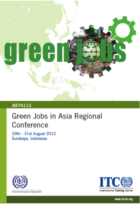 Green Jobs in Asia Regional Conference flyer