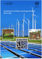 Introduction to policies and programs for green jobs