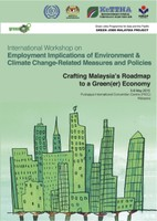 Programme Agenda-International Workshop on Employment Implications of Environment  & Climate Change-Related Measures and Policies Crafting Malaysia's roadmap to a green(er) economy.