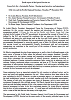 """Report of the Special session on """"Sustaining the future with Green jobs"""" (ILO, 2011)"""