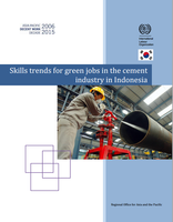 Skills trends for green jobs in the cement industry in Indonesia