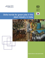 Skills trends for green jobs in the steel industry in India