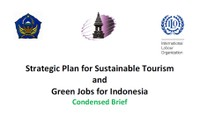 Strategic Plan for Sustainable Tourism and Green Jobs for Indonesia: Condensed Brief