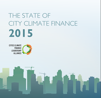 The State of the City Climate Finance 2015