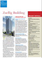 Zuellig Building -  Green features and sustainable technologies